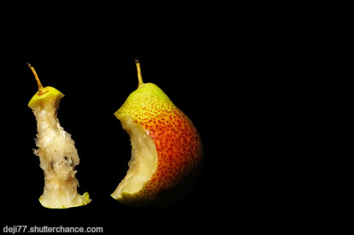 photoblog image TWO LITTLE PEARS